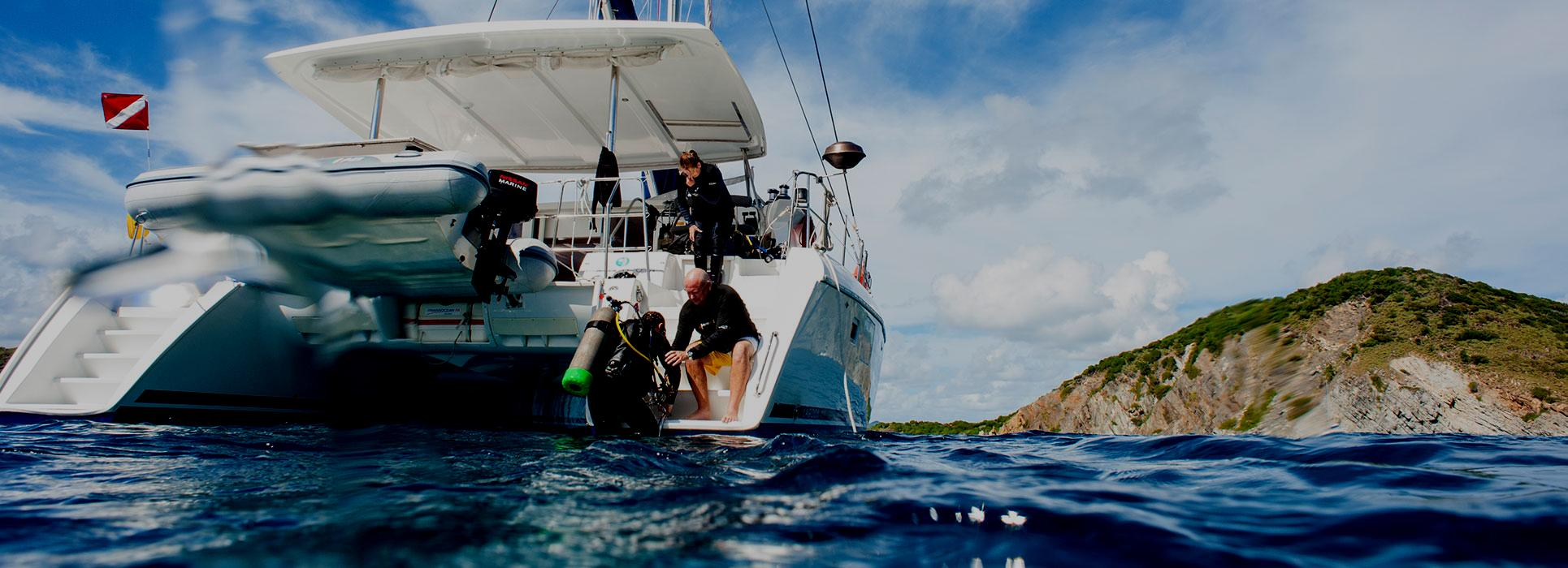 British Virgin Island Sailing and Diving Combo